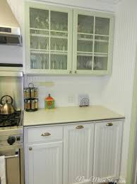 Storage In Kitchen Cabinets by Kitchen Enchanting Clear Glass Sage Green Kitchen Cabinets As