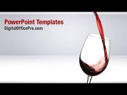 red wine powerpoint template backgrounds digitalofficepro