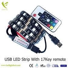 Dimmable Led Strip Lights 5v Smd 5050 30led Ws2811 Usb Dimmable Led Strip Lights With