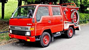 toyota commercial vehicles usa jdm fire engine toyota hiace double cab diesel 5 speed usa