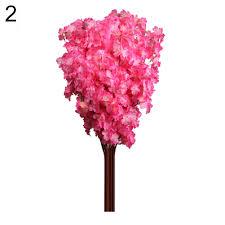 Artificial Flowers Home Decor by Peach Blossom Cherry Plum Branch Silk Flowers Home Decor Bouquet