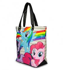my pony purse my pony rainbow dash twilight sparkle pinkie pie tote bag