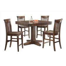 Counter Height Oak Kitchen  Dining Tables Youll Love Wayfair - Height of kitchen table