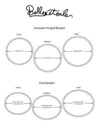 bracelet bangle size images Frequently asked questions caroline fisher jewelry jpg