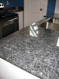 Affordable Kitchen Countertops Kitchen Granite Tile Countertop In Blue Pearl By Lazy Affordable