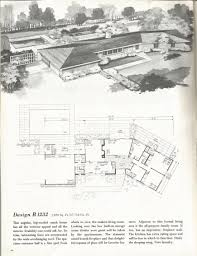 vintage house plans mid century homes 1960s homes floor plans
