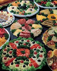 our catering selections include cold cut platters cocktail