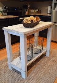 Furniture Islands Kitchen Rustic Reclaimed Wood Kitchen Island Table Hometalk