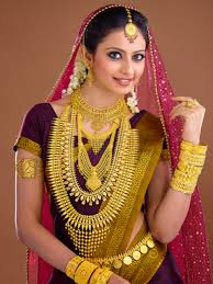 get inspired by the kerala bridal wear and jewelry free indian