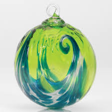 mt st helens ash blown glass ornaments pacific northwest shop