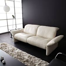 contemporary sofa contemporary sofa leather fabric 2 seater elena by kurt