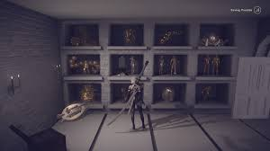 nier automata what is this trophy room for arqade