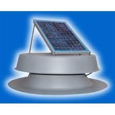 powered attic fan