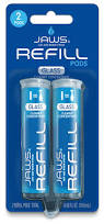 amazon com jaws glass cleaner bottle with 2 refill pods non
