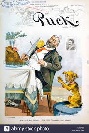 cartoon images of thanksgiving turkey waiting for scraps from the thanksgiving table political cartoon