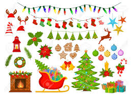 new year items merry christmas and happy new year seasonal winter