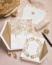 Invitation Cards For Weddings Wedding Invitations Inspired By Our Favorite Fashion Trends