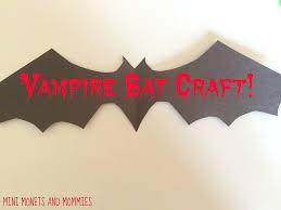 mini monets and mommies halloween bat kids u0027 paint project