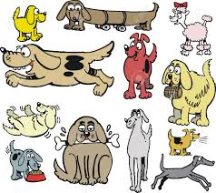 Types Of Dogs Vector Cartoon Of Different Types Of Dogs Royalty Free Cliparts