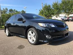 pre owned 2012 toyota camry se 4dr car in tallahassee 3021548a