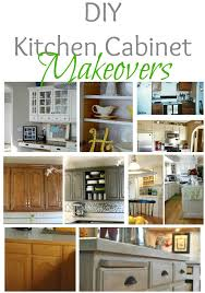 Old Kitchen Cabinet Makeover Home Sweet Home On A Budget Kitchen Cabinet Makeovers Diy