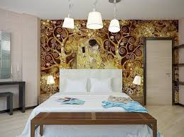 accent wall wood holiday decoration idea for bedroom low shade