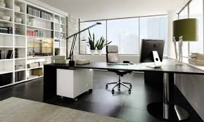Luxury Modern Home Office Custom Modern Home Office Design Home - Home design office