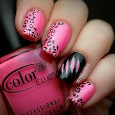 best nail blogs nail pink cheetah nails cheetah