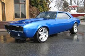 blue 68 camaro 1968 chevrolet camaro custom 2 door coupe 125266