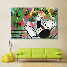 Graffiti Art Home Decor Online Get Cheap Art Money Free Aliexpress Com Alibaba Group