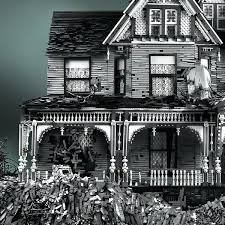 incredible crumbling victorian mansions made from legos u2013 flavorwire