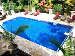 Lounge Chairs In Pool Design Ideas Rectangular Pool Designs Rectangular Swimming Pool Design Ideas