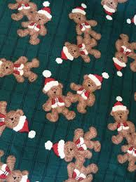 christmas fabric teddy bears kids fabric christmas craft