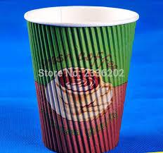 bicchieri di carta personalizzati commercio all ingrosso logo personalizzato 8 oz 12 oz 16ozl