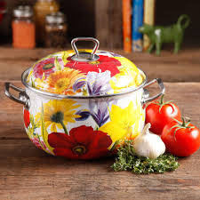 floral dutch oven the pioneer woman