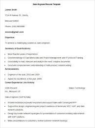 Sample Of Comprehensive Resume sales resume template u2013 41 free samples examples format