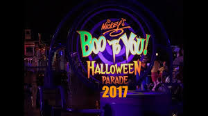 scary halloween sign mickey u0027s boo to you halloween parade 2017 mickey u0027s not so scary