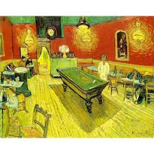 van gogh bedroom painting hand painted high quality vincent van gogh abstract the night cafe