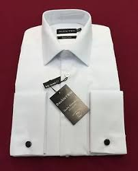 white marcella mess dress shirt double two golf ball double cuffs