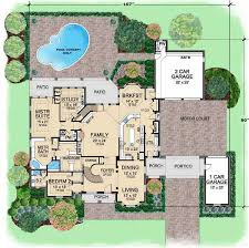 5 Bedroom Cottage House Plans English Country Style House Plans 5518 Square Foot Home 2