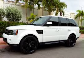 land rover autobiography white white range rover fucking yes with those rims u003c3 dream
