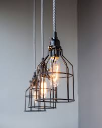 industrial cage light bulb cover industrial cage light remarque decor