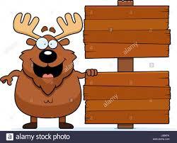cartoon smiling moose stock photos u0026 cartoon smiling moose stock
