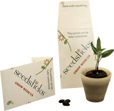 custom seed packets seedsticks seedpots seed packets seed packs