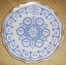 spode seder plate collectors weekly