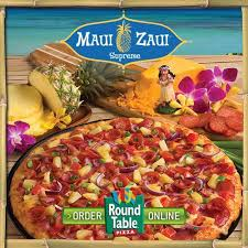 polynesian sauce round table come in and try the new maui zaui davis round table pizza