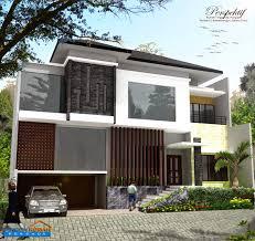desain rumah minimalis 2 lantai luas tanah 200m2 gambar contoh