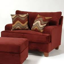 Ottoman Red by Perfect Chair And A Half With Ottoman Red Room Chairs 14 Intended