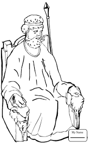 Coloring Pages For Kids Samuel Anoints David As King Christianity Samuel Coloring Pages