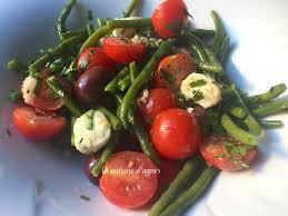 cuisiner haricots verts frais salade de haricots verts frais à l ail nouveau la cuisine d